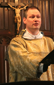 The Vicar Fr Alan Gyle
