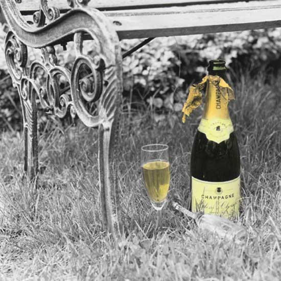 Champagne Garden Party
