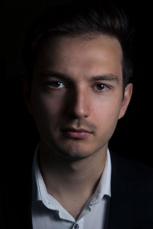 Michael Papadopoulos close up