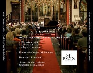 Mozart Piano Concerto No 12 in A major (K414) - Front