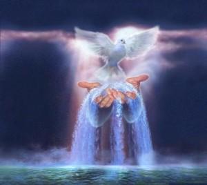 Pentecost water